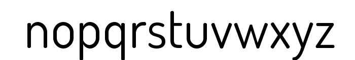 TerminalDosis-Book Font LOWERCASE