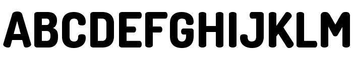 TerminalDosis-ExtraBold Font UPPERCASE