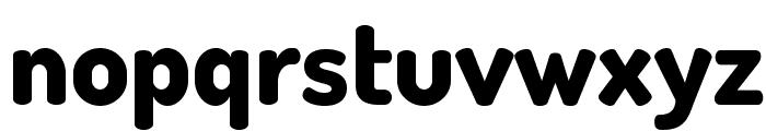 TerminalDosis-ExtraBold Font LOWERCASE