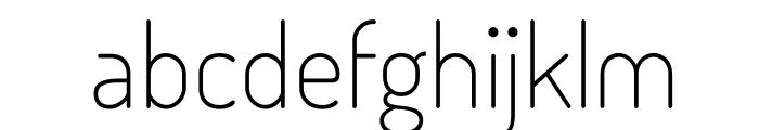 TerminalDosis-Light Font LOWERCASE