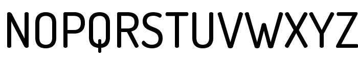TerminalDosis-Medium Font UPPERCASE