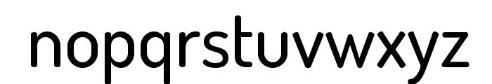 TerminalDosis-Medium Font LOWERCASE