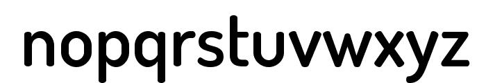 TerminalDosis-SemiBold Font LOWERCASE