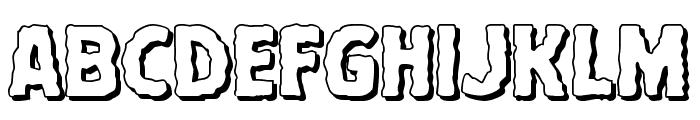 Terror Babble 3D Font LOWERCASE