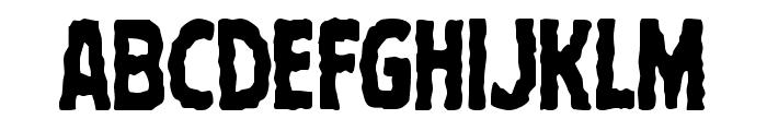 Terror Babble Condensed Font UPPERCASE