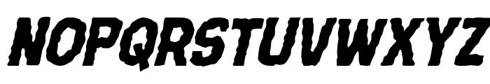 Terror Babble Italic Font UPPERCASE
