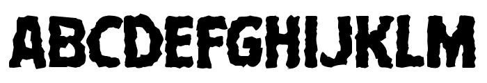 Terror Babble Mangled Font LOWERCASE