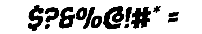 Terror Babble Rotalic Font OTHER CHARS