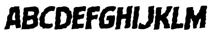 Terror Babble Rotalic Font UPPERCASE
