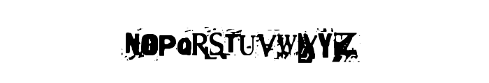 Terror2005 Font LOWERCASE