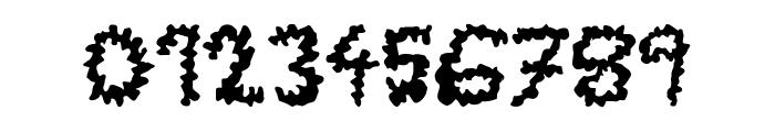 TerrorToons Font OTHER CHARS