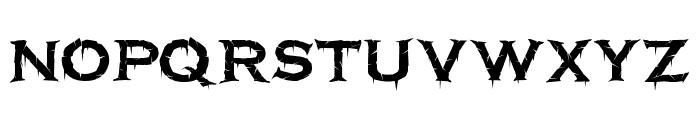 Terrorplate Font LOWERCASE