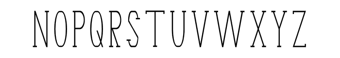 Terry Bruce Font UPPERCASE