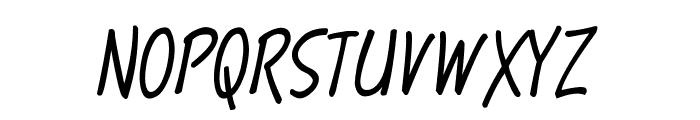 Terry Script Font UPPERCASE