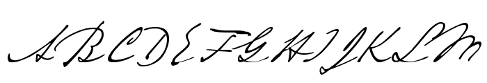 Tesla Font UPPERCASE