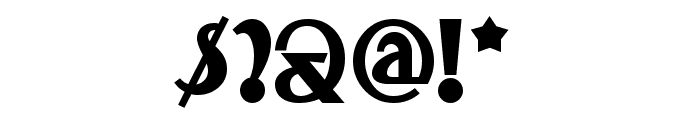 TestarossaNF Font OTHER CHARS