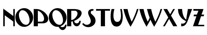 TestarossaNF Font UPPERCASE