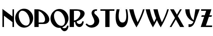 TestarossaNF Font LOWERCASE