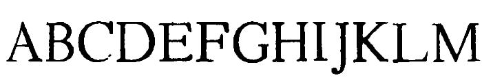 Testimonial Font UPPERCASE