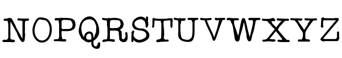 Testtype4 Font UPPERCASE