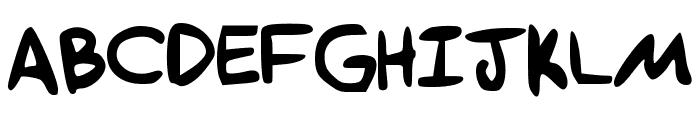 Tethanda Font UPPERCASE