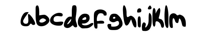 Tethanda Font LOWERCASE