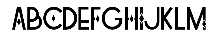Tetra Font UPPERCASE