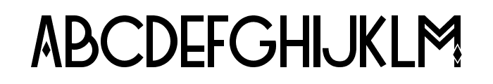 Tetra Font LOWERCASE