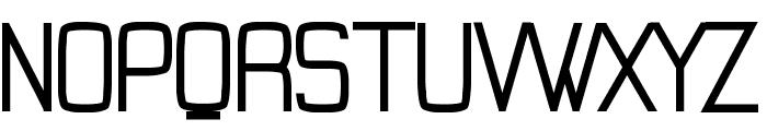 Tevegraphy Medium Font UPPERCASE