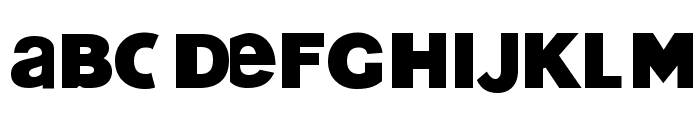 Texas Funeral Font LOWERCASE