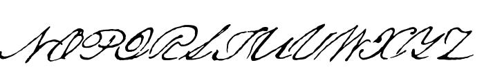Texas Hero Font UPPERCASE
