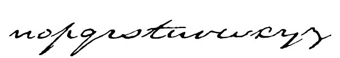 Texas Hero Font LOWERCASE