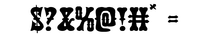 Texas Ranger Expanded Font OTHER CHARS