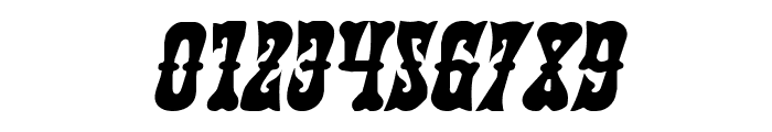 Texas Ranger Italic Font OTHER CHARS