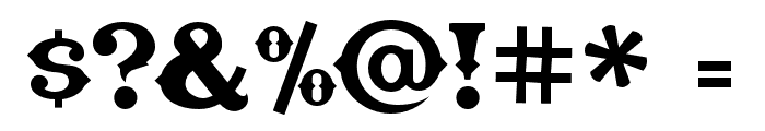 TexasTangoBOLDPERSONALUSE Font OTHER CHARS