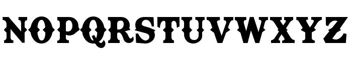TexasTangoBOLDPERSONALUSE Font UPPERCASE