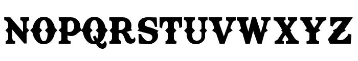 TexasTangoBOLDPERSONALUSE Font LOWERCASE