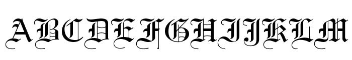 Textur Regular Font UPPERCASE