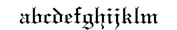 Textur Regular Font LOWERCASE