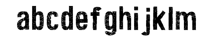 Texture Road Font LOWERCASE