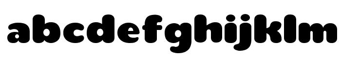 teaspoonRegular Font LOWERCASE