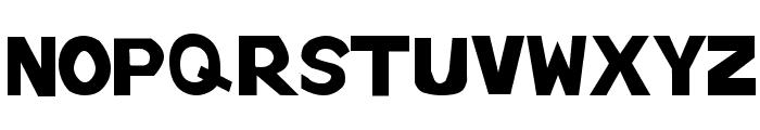 tenuki gothic Normal Font UPPERCASE