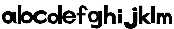 tenuki gothic Normal Font LOWERCASE