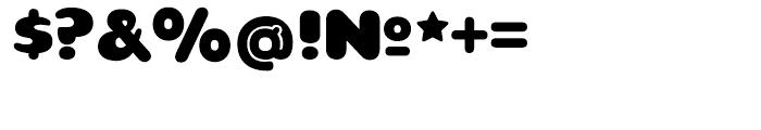 Teaspoon Regular Font OTHER CHARS