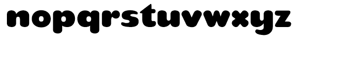 Teaspoon Regular Font LOWERCASE