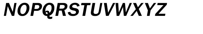 Tee Franklin Bold Oblique Font UPPERCASE