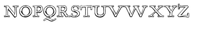 Teethreedee Regular Font UPPERCASE