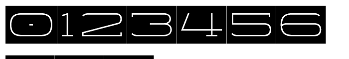 Telemark Label Light Font OTHER CHARS