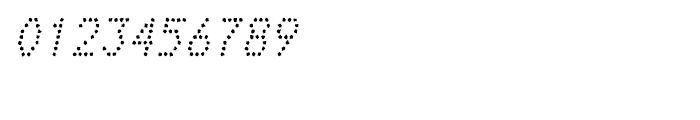 Telidon Ink Italic Font OTHER CHARS