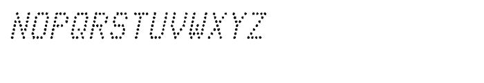 Telidon Ink Italic Font UPPERCASE